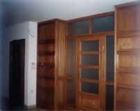 Fa bútor készítés - Tölgy térelválasztó