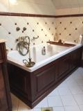 Fa fürdőszoba bútor gyártás -