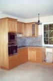 Egyedi konyhabútor gyártás - Konyhabútor natúr cseresznyefából