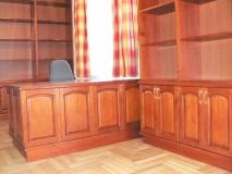 Könyvtár bútor - Könyvtárszoba bútor cseresznyefából.