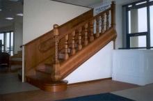 Falépcső készítés - Tölgyből készült lépcső