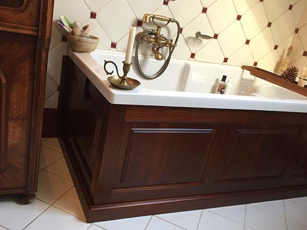 Fa fürdőszoba bútor gyártás